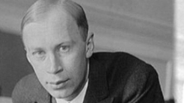Russian composer Sergei Prokofiev