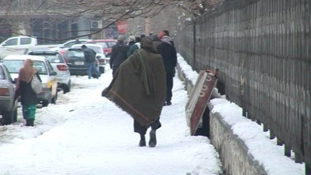 Afghan man in Kabul.