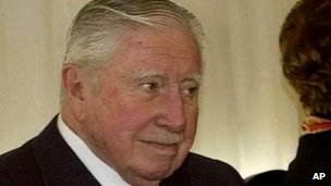 Chile's former military ruler Augusto Pinochet in 2000