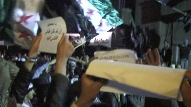 Syrian activists announce victory