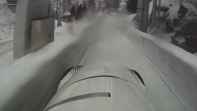 Bobsleigh head-cam