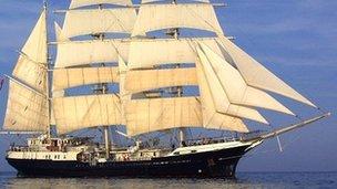 Tallship Tenacious