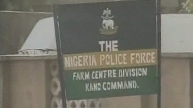 Nigeria police sign
