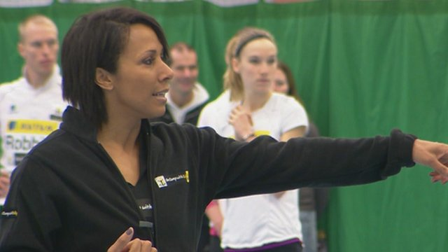 Dame Kelly Holmes at Tonbridge School