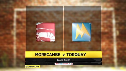 Morecambe 1-2 Torquay