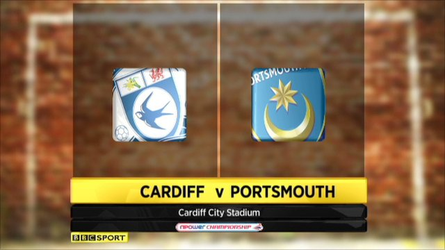 Cardiff 3-2 Portsmouth