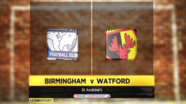 Birmingham 3-0 Watford