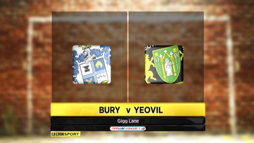 Bury 3-2 Yeovil