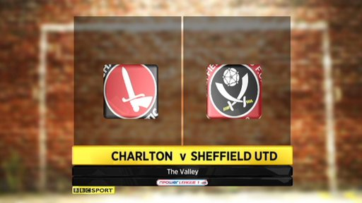 Charlton 1-0 Sheffield United