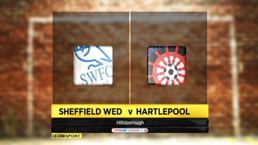 Sheffield Wednesday 2-2 Hartlepool