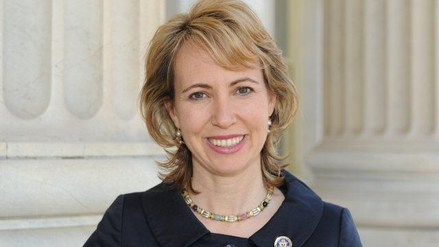 US politician Gabrielle Giffords