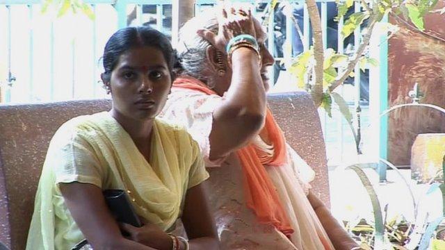 women waiting at Mumbai's family court