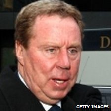 Harry Redknapp arriving at Southwark Crown Court