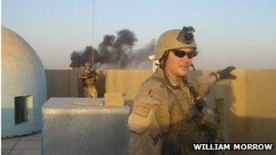 Chris Kyle in Iraq