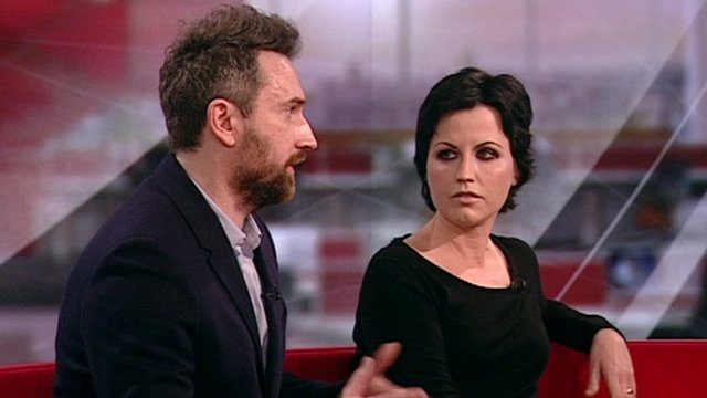Noel Hogan and Dolores O'Riordan