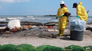 Gulf of Mexico oil-spill cleanup