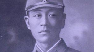 Shoichi Yokoi in 1941 (family photograph)