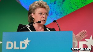 EU Justice Commissioner Viviane Reding