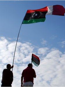 The Libyan uprising began in Benghazi