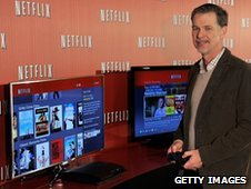 Reed Hastings Co-Founder and CEO Netflix poses during the Netflix UK launch in London
