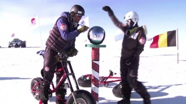 Helen Skelton at South Pole