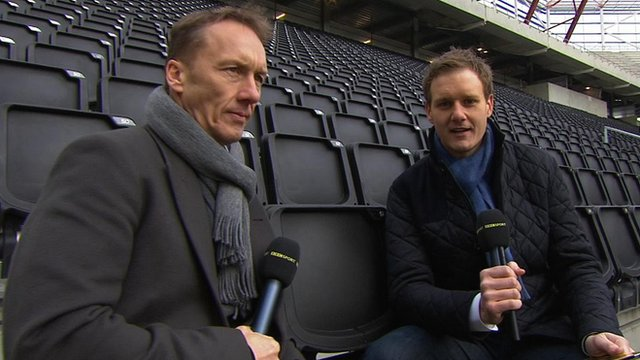 Lee Dixon and Dan Walker