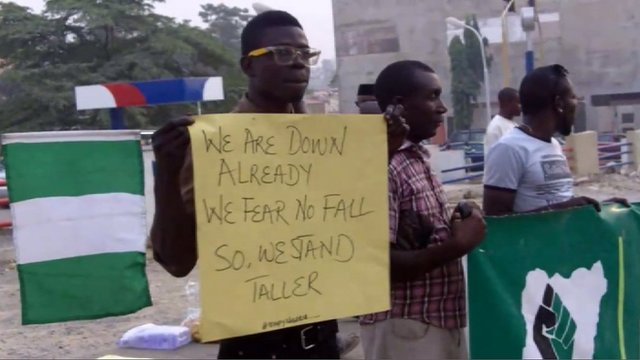 Young Nigerians demand changes