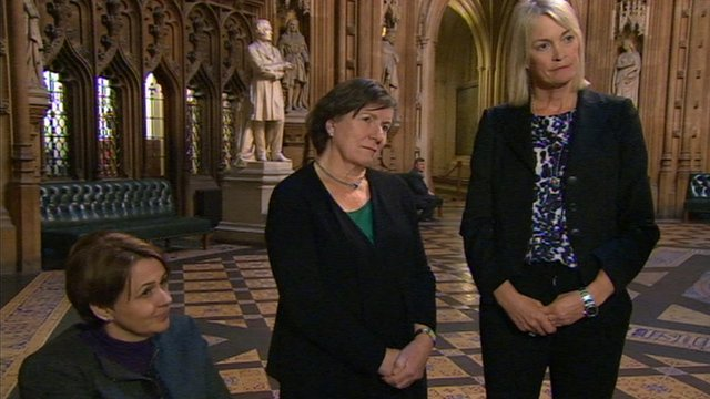 Baroness Tanni Grey-Thompson, Baroness Tonge and Margot James MP