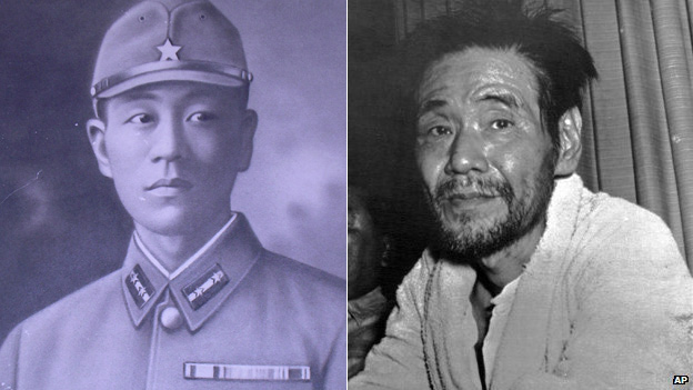 Shoichi Yokoi in 1941 and 1972