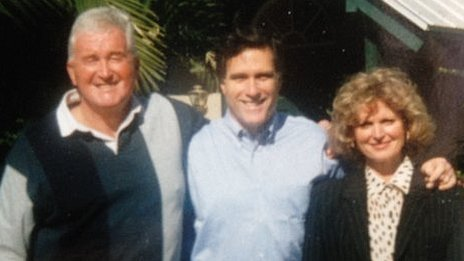Roddy Evans, Mitt and Ann Romney