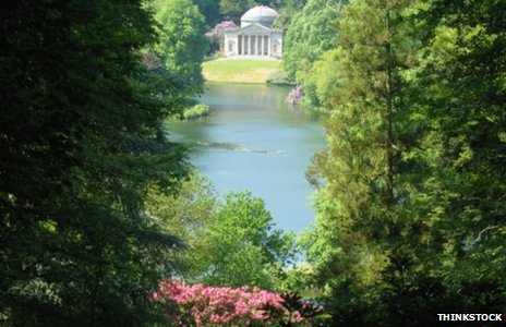 Pantheon at Stourhead