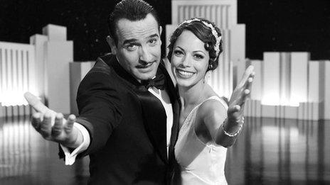 Jean Dujardin and Berenice Bejo