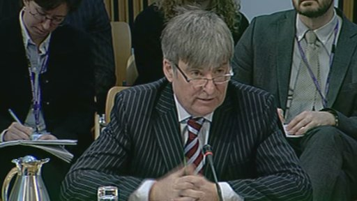 Head of news and current affairs at BBC Scotland, John Boothman
