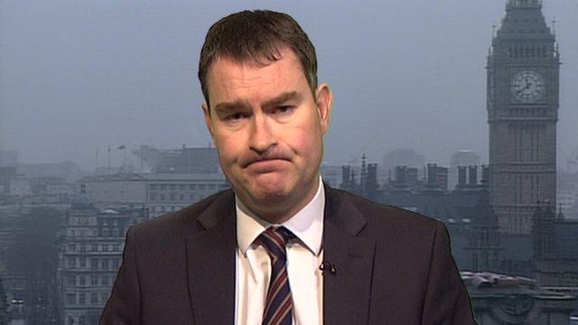 Treasury minister David Gauke