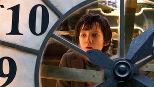 Asa Butterfield in Hugo