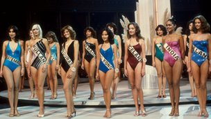 Contestants in the Miss World 1979 final