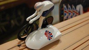 Hornby velodrome game