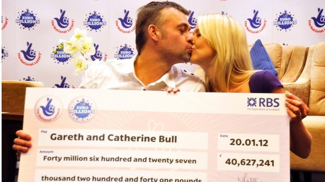 Gareth and Catherine Bull