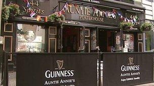Auntie Annie's bar