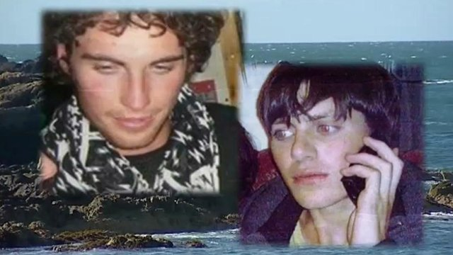 Lewis Darroch (r) and Callum MacKay drowned in the tragedy on the coast of Anglesey last summer.