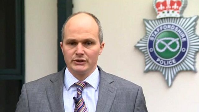 Detective Superintendent Martin Evans of Staffordshire Police