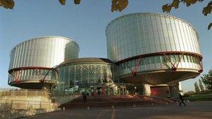 The ECHR in Strasbourg
