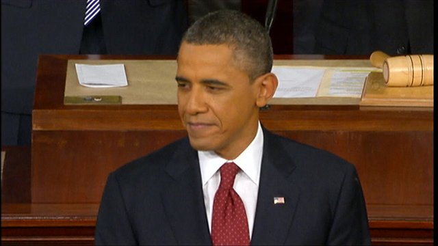 Obama Urges Economic Fairness in State of The Union