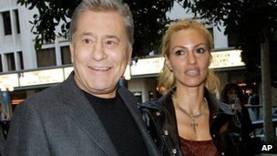 James Farentino and his wife Stella