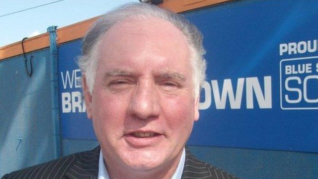 Braintree Town manager Alan Devonshire