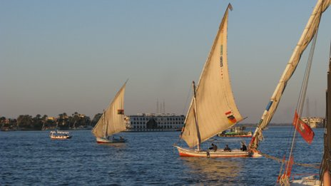 River Nile at Luxor