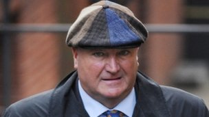 General Secretary of the RMT Bob Crow arriving at the Leveson Inquiry in London