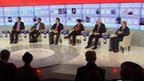 Panel talk in Davos