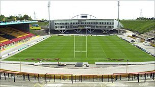 Odsal as the stadium is now