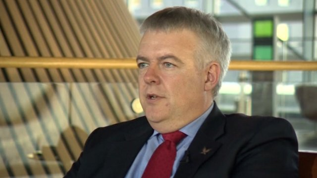 Wales First Minister Carwyn Jones